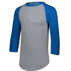 Augusta Youth 3/4 Raglan Sleeve Baseball Shirt