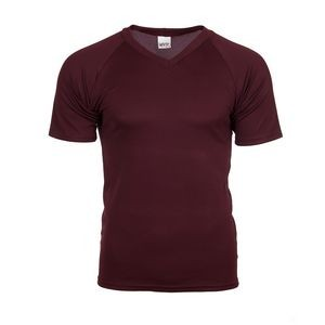 V-Neck Raglan Sleeve Performance Shirt